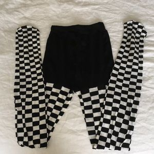 NWOT Leg Avenue Checkerboard Tights
